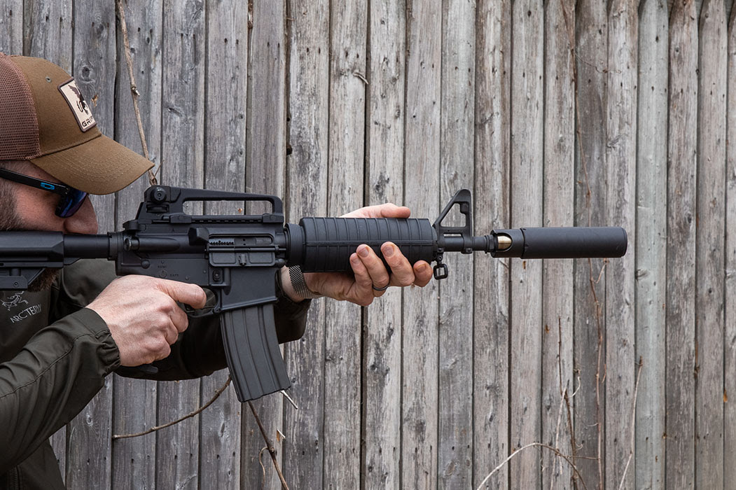 The GP-N is intended to be just as tough as the duty guns it's meant to go on, so its full-auto rating and 17-4 stainless steel construction should provide good durability.