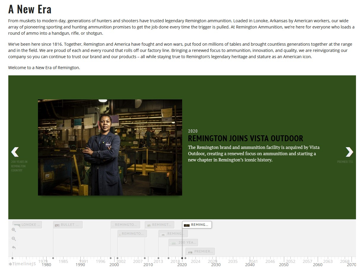 """The new site's """"About Us"""" section gives a nod to some of the corporate changes that came about last year, predicating the updates in question."""