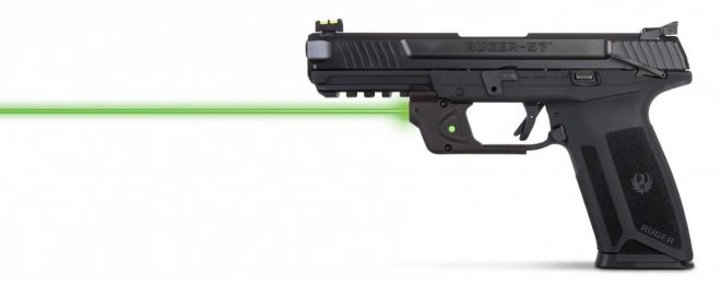 Viridian E-Series Green Laser Sight Now Available for Ruger 57 Pistol