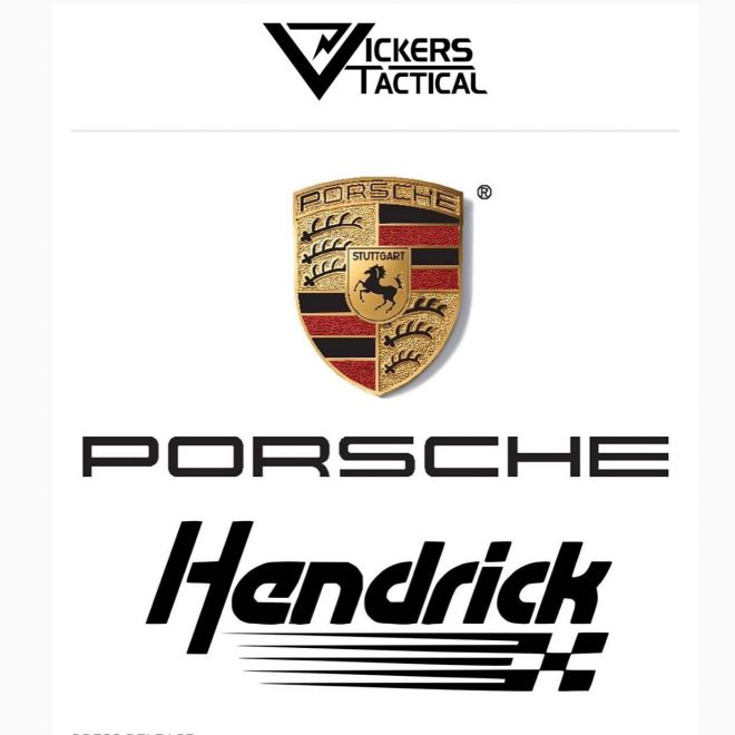 Vickers Tactical has announced Hendrick Porsche as their YouTube channel's newest sponsor.
