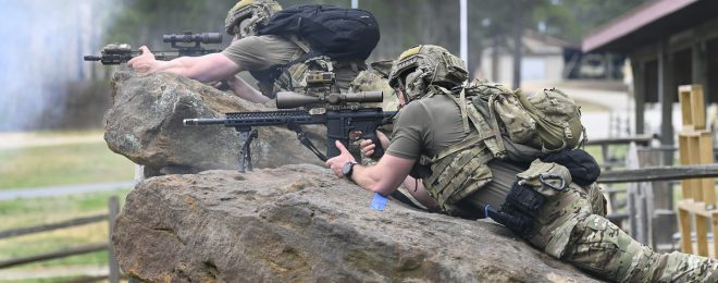 POTD: International Sniper Competition at John F. Kennedy Special Warfare Center