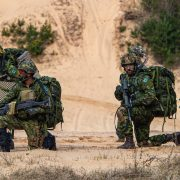 eFP Battle Group-Latvia In Joint Force Exercise