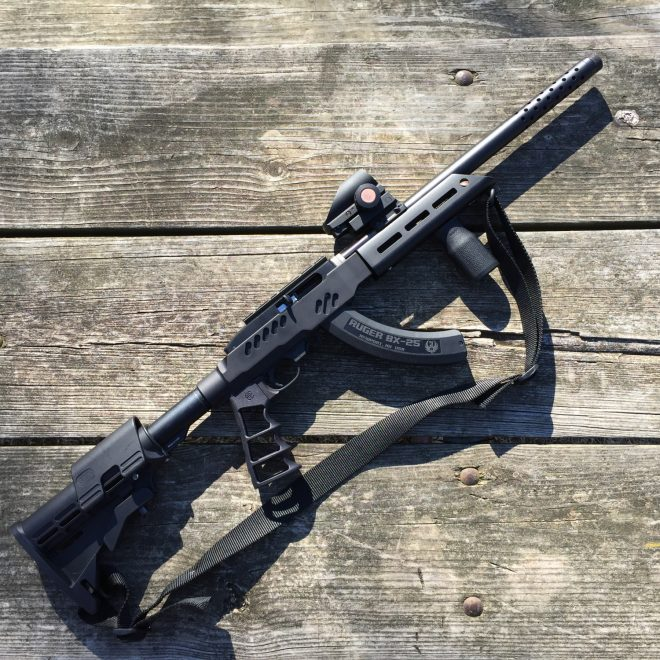 Crazy Ivan Ruger 1022 Takedown Chassis (1)