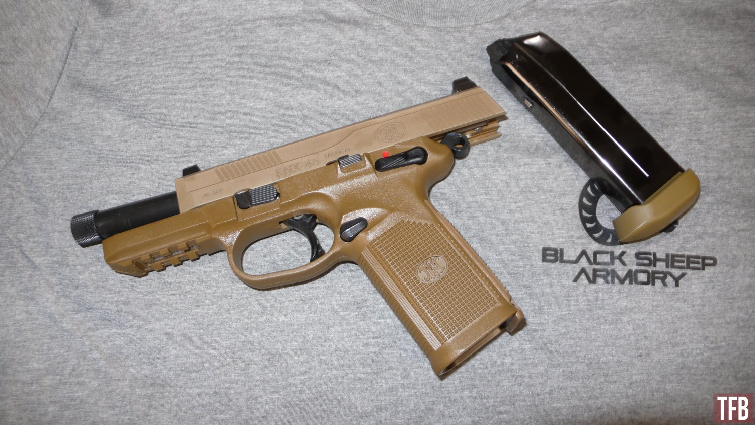 FNX 45 Tactical Field Strip