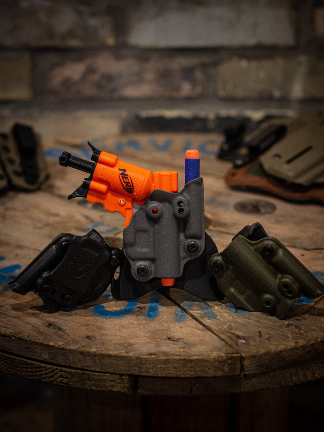 The Jolster Federal and State Compliant Muzzleloading Holster
