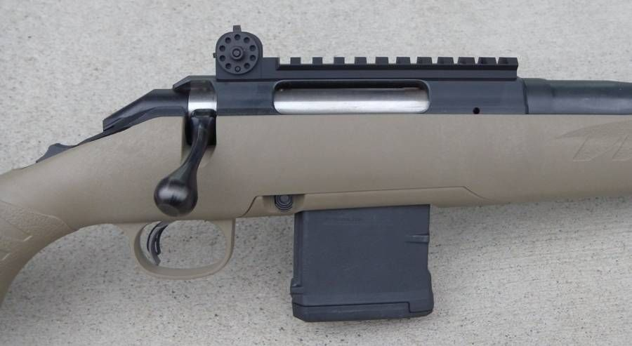 iron sights for Ruger American Ranch rifles