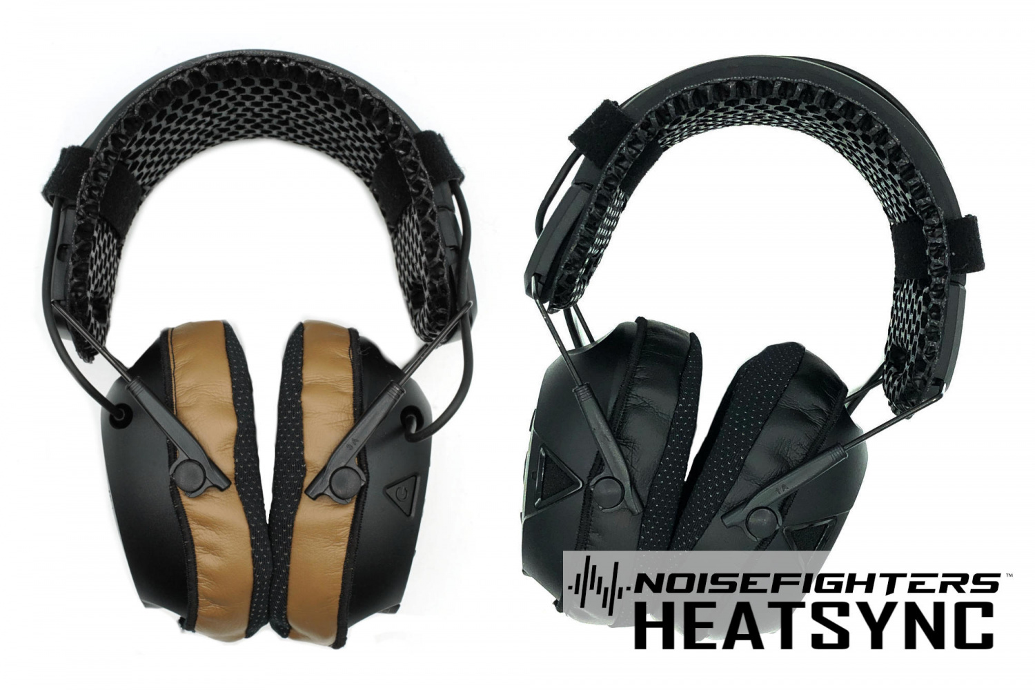 HeatSync covers use an anti-microbial, silver-embedded fabric, and are currently available in coyote tan or black.
