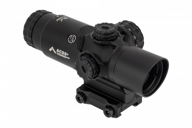 Primary Arms Adds new ACSS Gemini Reticle to GLx 2x Prism