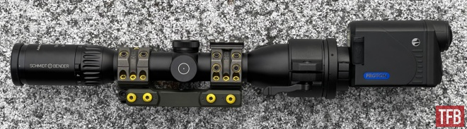 POTD Pulsar Thermal Clip-Ons and Thermal Sight on a Blaser R8 (2)