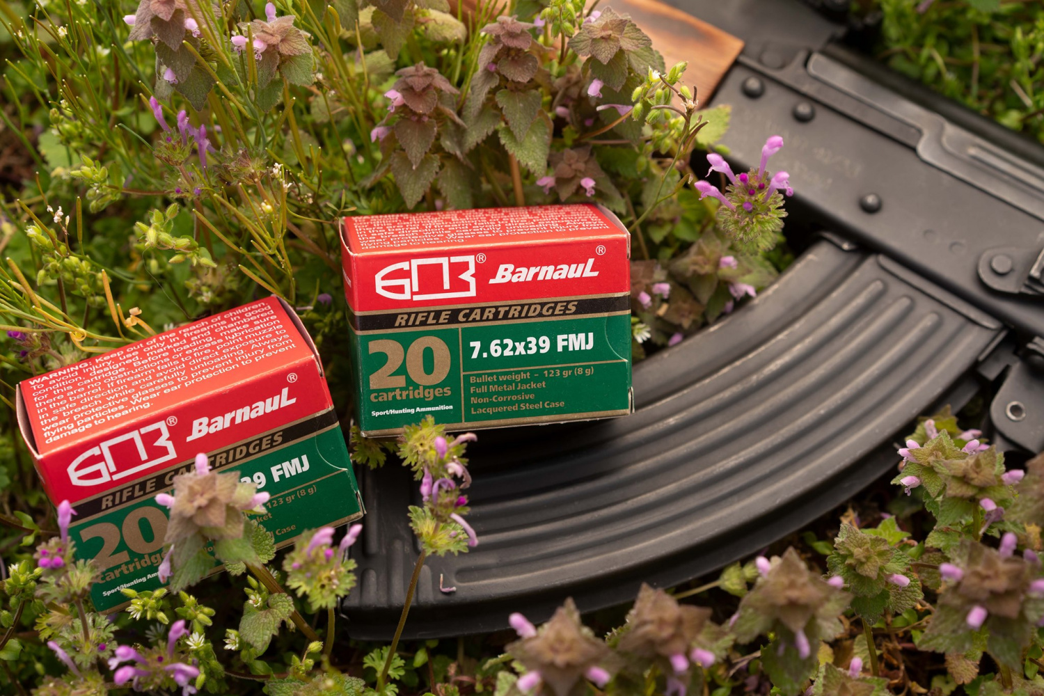 As you'd expect from a Russian-based steel-case ammo company, Barnaul does produce some good old 7.62x39.