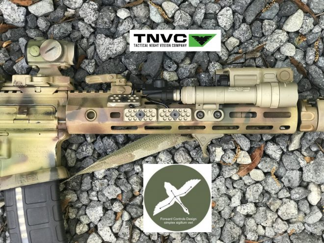 TNVC and Forward Controls Design have announced their new collaboration: the M-LOK PCM (Panel, Cable Management).