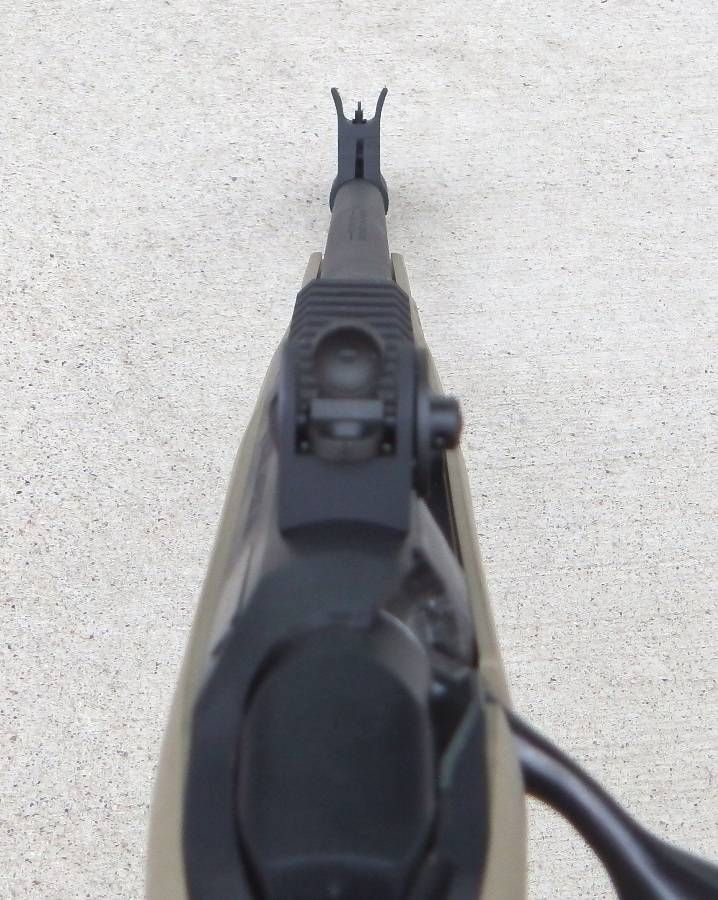 Iron Sights for Ruger American Ranch rifle