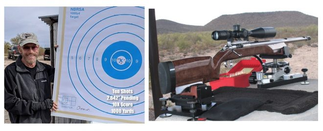 What is likely the best 10-round group in benchrest match history was shot by Charles Greer in February.