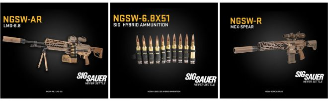 SIG SAUER CEO Ron Cohen talks NGSW in a new statement/video released April 28th.