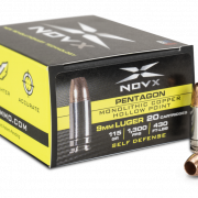 NovX Ammo has released their new Pentagon series of defense ammunition.