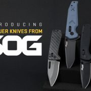 SIG SAUER and SOG Knives have announced four new collaborative knife models, available on SIG's website now.