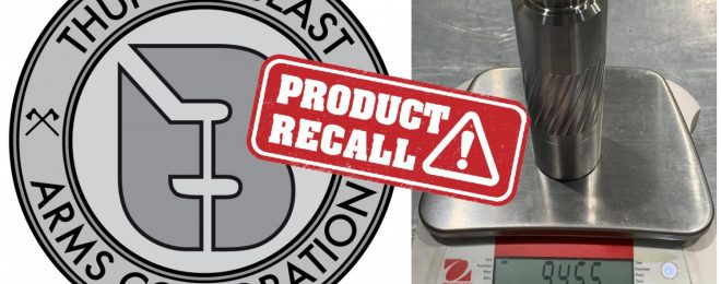 TBAC has issued a safety recall for some of their suppressors manufactured in 2020.