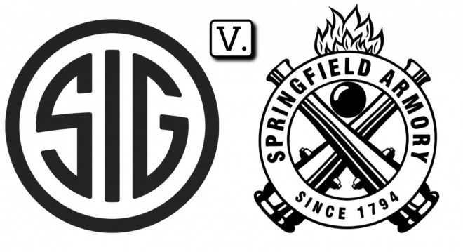SIG SAUER Files Lawsuit Against Springfield For Patent Infringement