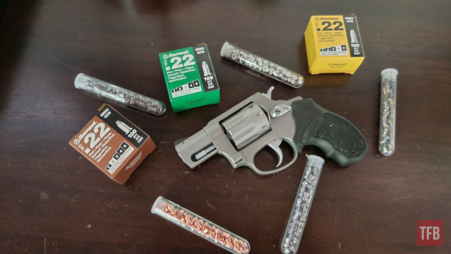 The Rimfire Report: Ammo For The Apocalypse - Nail Blanks and 22 Pellets