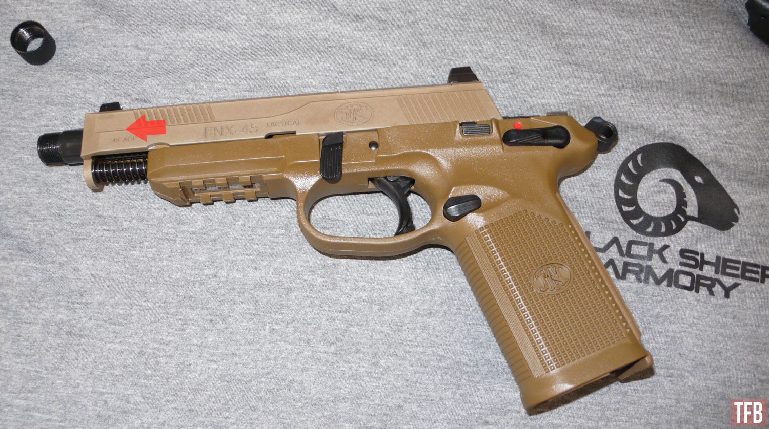 FN FNX 45 Tactical Field Strip