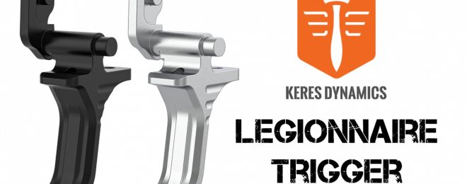 Fully Adjustable Legionnaire Competition Trigger from Keres Dynamics