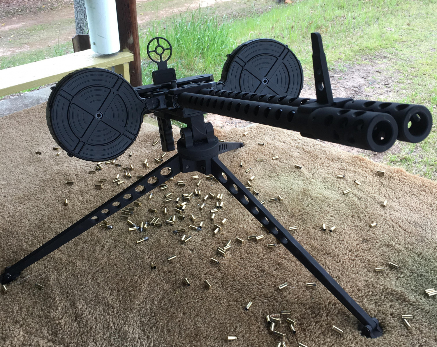 The Rimfire Report The Pike Arms Gatling Gun Kit For Ruger 10 22 Riflesthe Firearm Blog