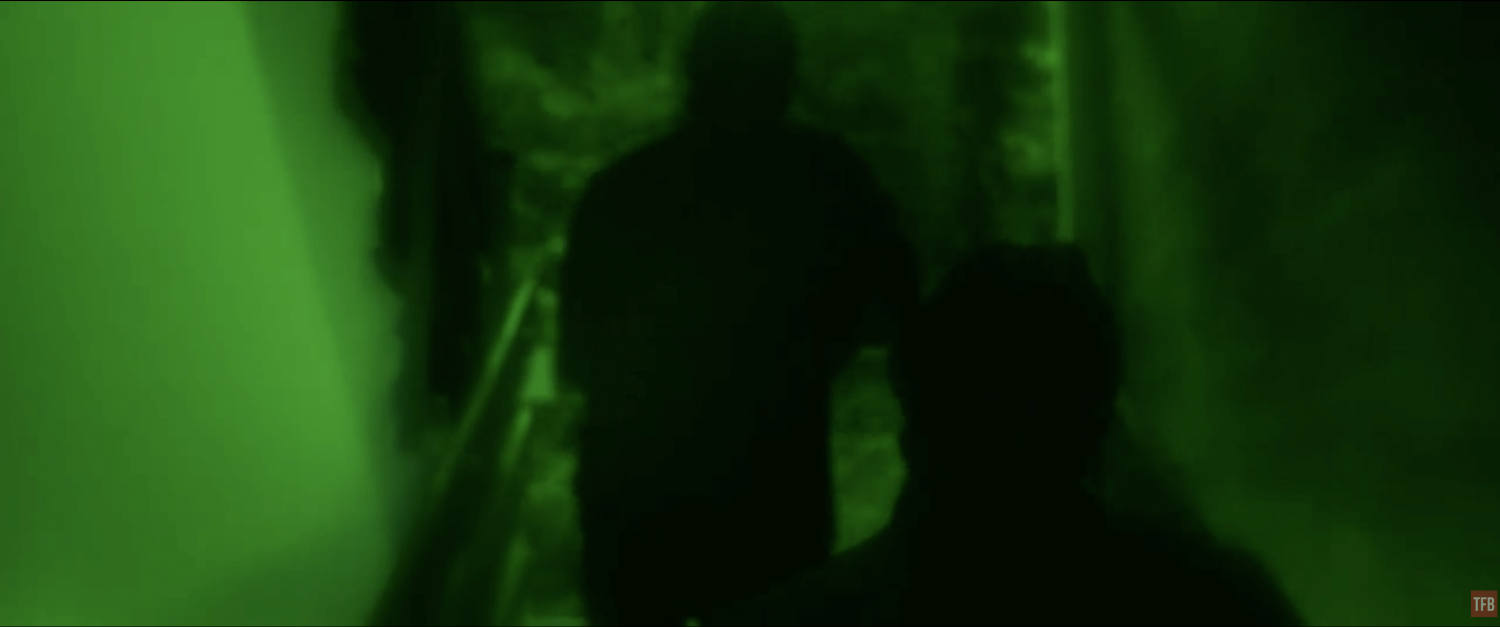 Without Remorse night vision scene