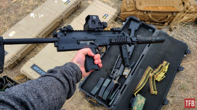 TFB Collab: HK MP7 with 1911 Syndicate