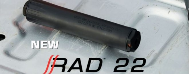 OSS Introduces A Quieter and Cleaner RAD 22 Suppressor