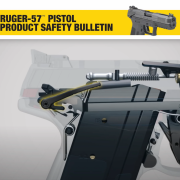 Ruger has issued a safety bulletin regarding an issue with their Ruger-57 model handgun.