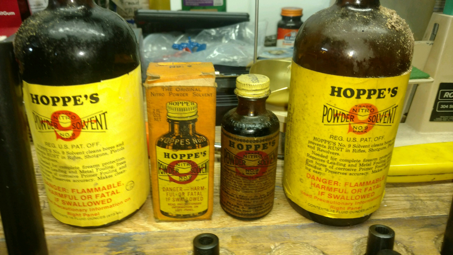 Hoppe's to bring back classic Glass No.9 Bore Cleaner Bottle