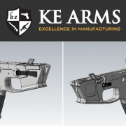 KE Arms introduces their new KP-9, a monolithic polymer 9mm AR lower receiver.