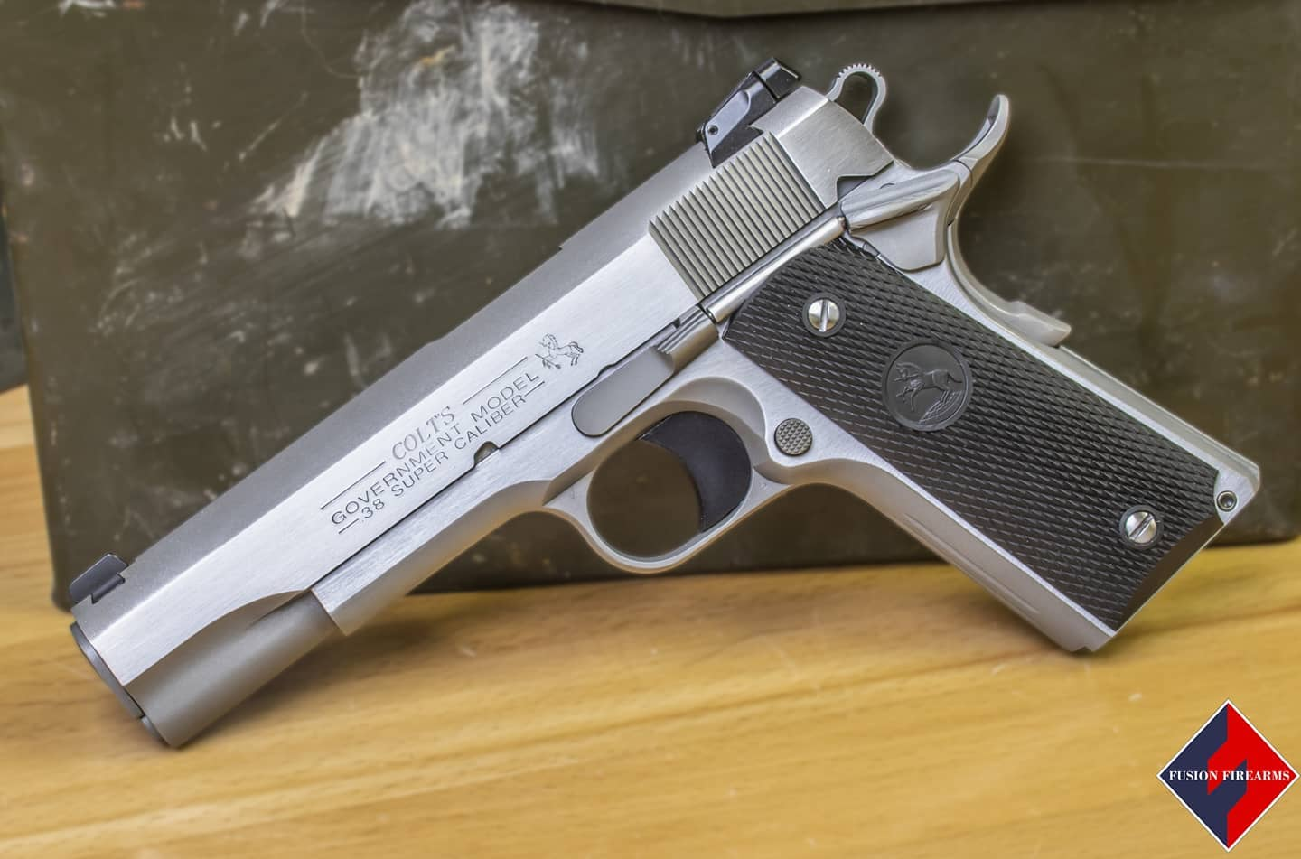 New Custom 10mm 1911 on Offer from Kinsey's and Fusion Firearms