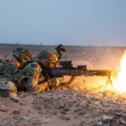 POTD: Suppressive Fire From The 173rd Airborne Brigade