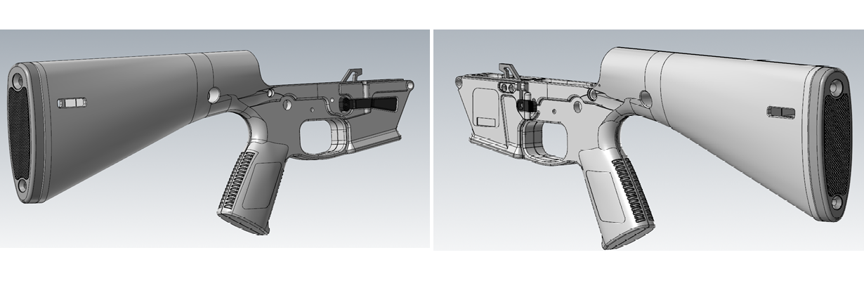 Another look at the KP-9's modeling - and yes, it takes Glock mags.