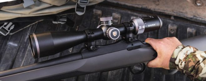 Maven Introduces the new RS.5 4-24x50mm SFP Riflescope