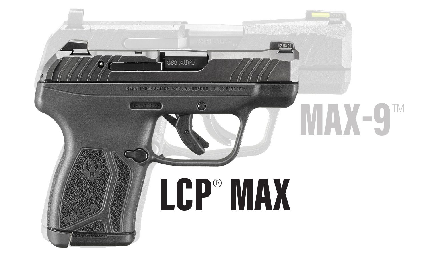 Ruger Introduces the New Ruger LCP MAX 380 Pistol