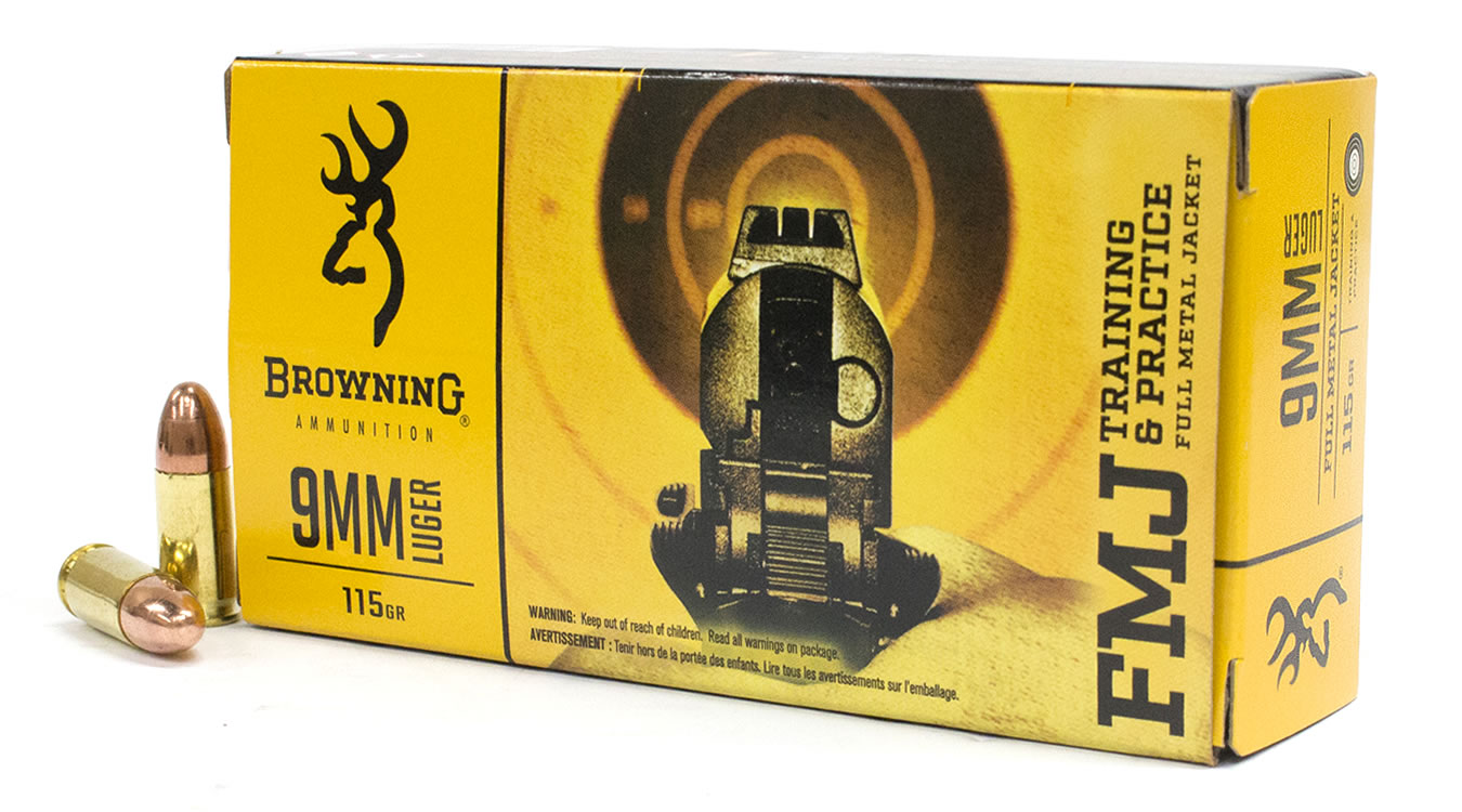 If you have Browning FMJ 9mm rounds that came in a box like this, please check your lot number.