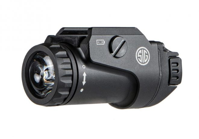 The New FOXTROT1X Rail Mounted Light from SIG SAUER Electro-Optics