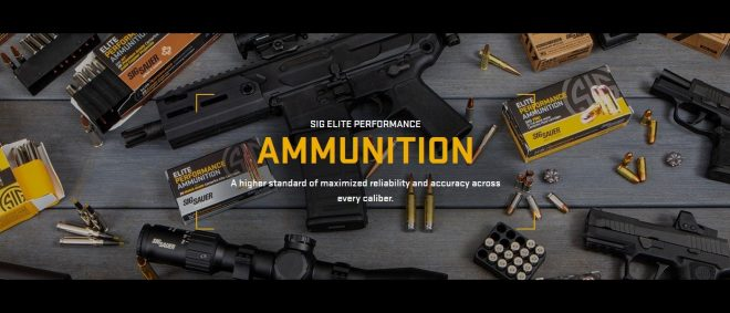 SIG SAUER is expanding their ammunition manufacturing capabilities in Arkansas.