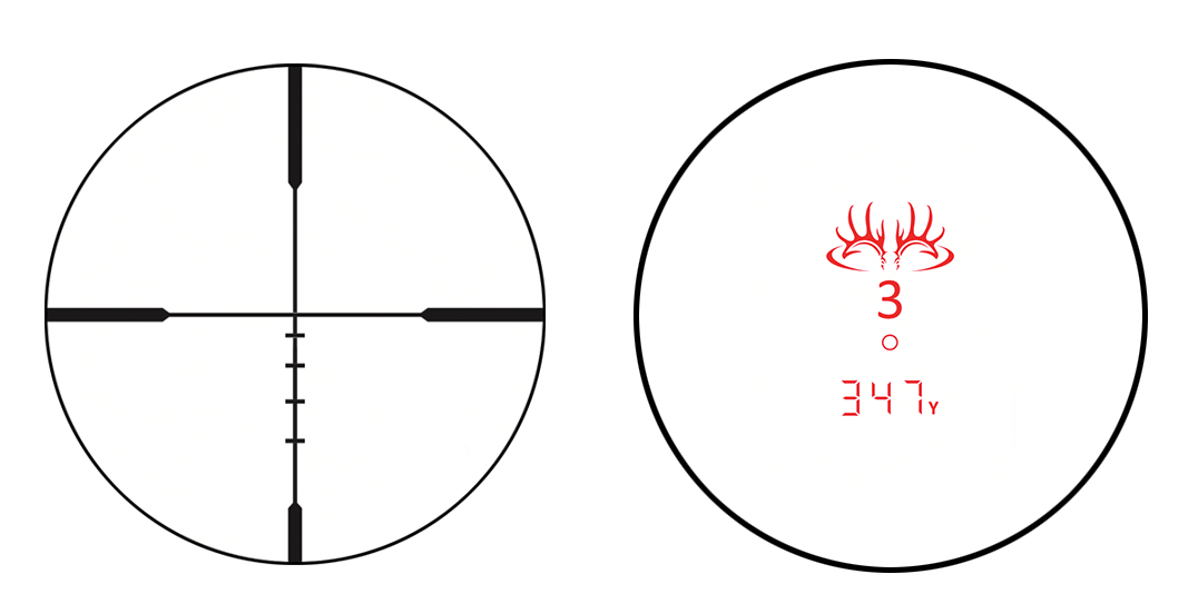 The new special-edition BDC reticle featured in these optics is intended to be optimized for hunting.