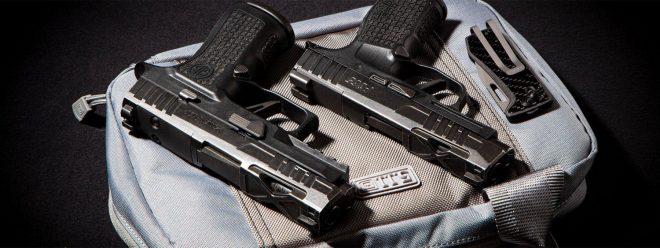 New from SIG SAUER's Custom Works program: the Spectre Series P365XL and P320 XCOMPACT.