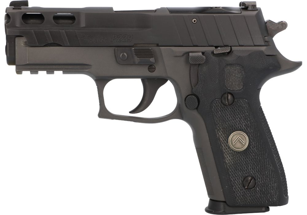 A closer look at a P229 wearing one of the new optics-ready Pro-Cut slides.