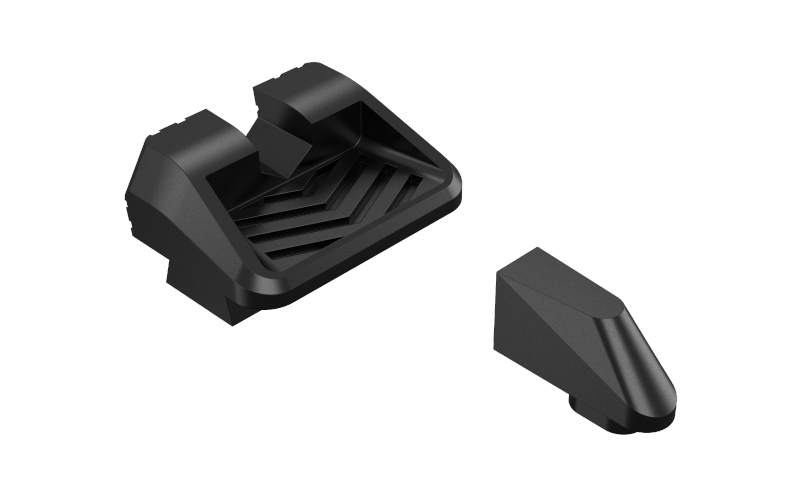 These new serrated Glock sight sets will be made from 7075 aluminum, which bodes well for durability as compared to standard factory polymer sights.