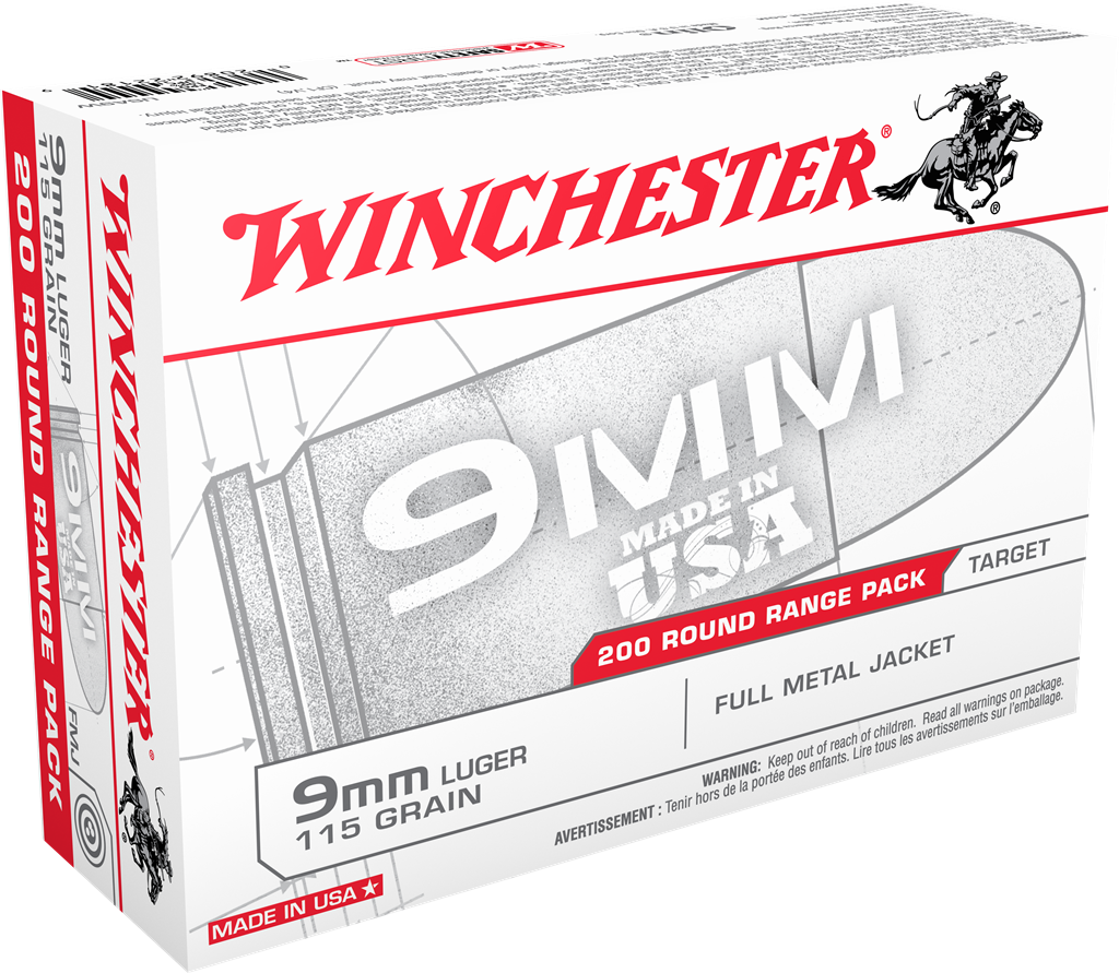 One of the several packaging types affected by Winchester's recall looks like this.
