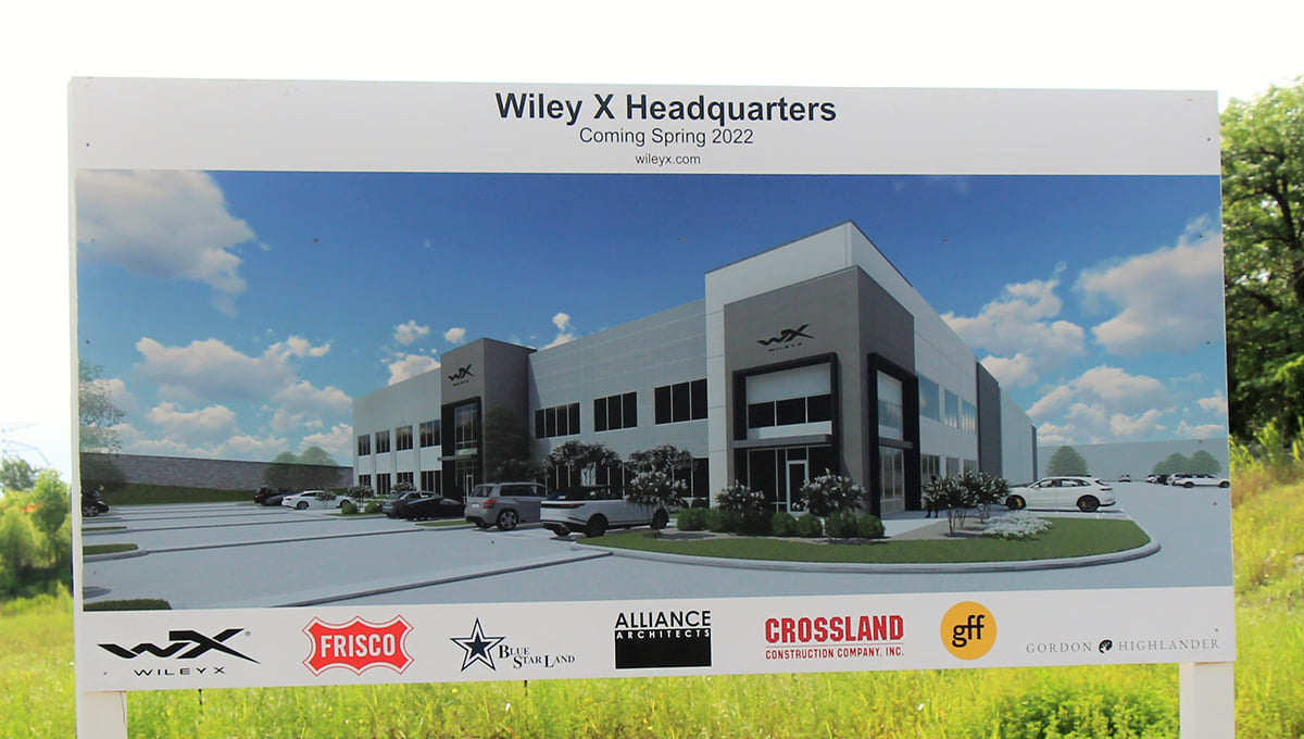 A rendering of what the new facility will look like once construction is complete, which is projected to be finished in Q2 2022.