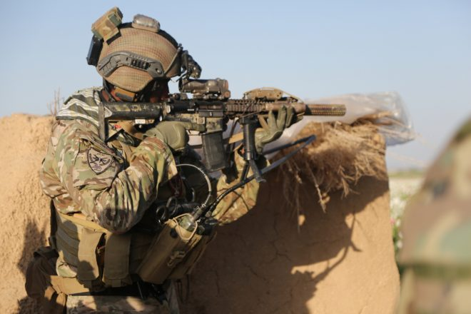 U.S. Special Forces in Afghanistan (2014)