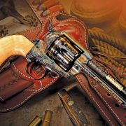 Cimarron Firearms Master Engraved Frontier .45LC Package