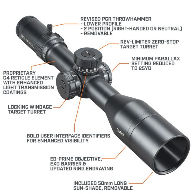 Bushnell's New XRS3 and DMR3 Elite Tactical Scopes
