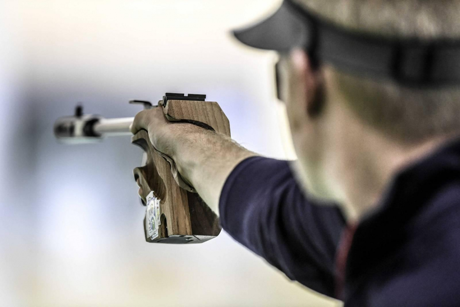 Olympic Games Pistol Rapid Fire Competitor